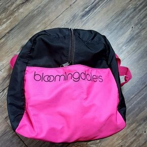 Bloomingdale zippered tote